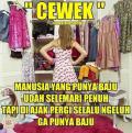 Meme Kocak Lika-Liku Cewek yang Kadang Sulit Dimengerti Cowok