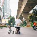 Saking Lengangnya Jalanan Jakarta Saat Lebaran, Warganet Pun Berfoto dengan Ragam Gay…