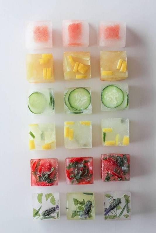 Ditambah dengan buah bisa langsung dimakan saat es batunya mencair.