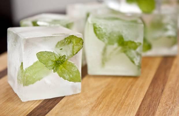 Biar makin segar kamu juga bisa tambahkan daun mint di dalam esnya Pulsker.