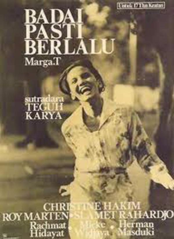 Film ini diangkat dari novel karya Marga T Pulsker. Disutradari oleh Teguh Karya dan pemerannya adalah Roy Marten saat masih muda.