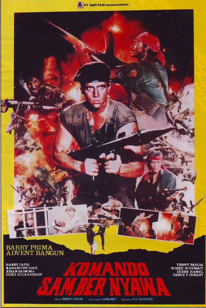 Selain film horor, film jadul yang masih layak tonto adalah film bertema perjuangan bangsa sob.