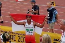 6 Fakta Tentang Muhammad Zohri, Pelari Indonesia Tercepat Dunia