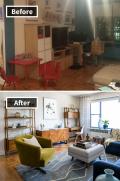8 Foto Ruangan Sebelum dan Setelah di Make Over