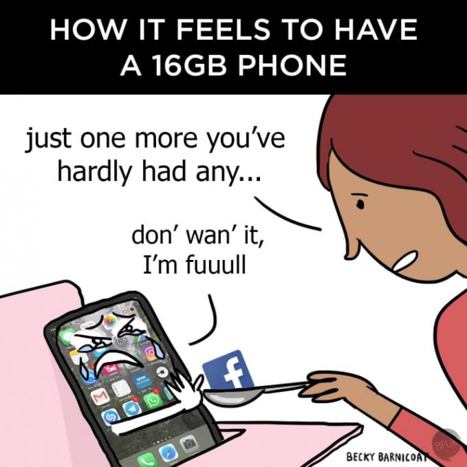 Ini yang kamu rasakan ketika punya smartphone yang kapasitasnya kecil banget. Harus hapus aplikasi untuk install aplikasi baru.
