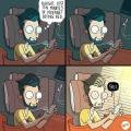 10 Ilustrasi Tentang Realita Menggunakan Smartphone, Bener Juga Ya?