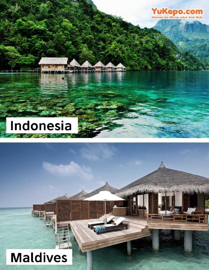 Pantai Ora Maluku Vs Maldives
