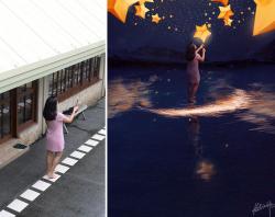 Begini Proses Pembuatan Foto Keren Sebelum dan Setelah Diedit