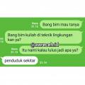 9 Balasan Chat Super Ngawur Saat Ditanya 'Setelah Lulus Jadi Apa?'