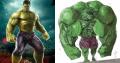 Ilustrasi Sosok Superhero Terkenal Kalau Mengidap Obesitas