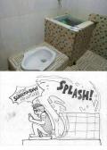 Jawaban Imajinatif Netizen dari Penggunaan WC Berbentuk Aneh yang Lagi Viral