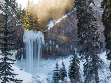 Tamanawa Air terjun Tamanawa berlokasi di Gunung Hood Oregon. Lokasi sekitar Tamanawa sering digunakan untuk Hiking. Ketika musim dingin pesona air terjun Tamanawa bertambah indah. Hiking di Tamanawa ketika musim dingin sangatlah mengasikkan lho