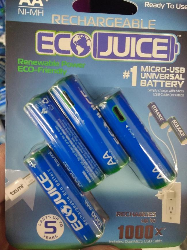 Dulu kalau baterai tabung gini sekali pakai langsung buang, sekarang ada yang bisa diisi ulang dengan mudah layaknya kita mengisi baterai gadget.