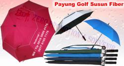 Keren!! Jual Payung Golf Susun Fiber Otomatis - payung Golf 2 Susun