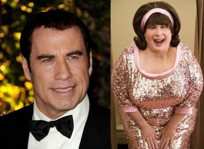 John Travolta Akting John Travolta memang patut diacungi jempol. Biasanya dia memerankan tokoh yang brutal. Namun di film Hairspray ia memerankan tokoh yang tidak biasa. Dia memerankan tokoh Edna Tumbled seorang ibu ibu bertubuh tambun.