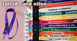 Keren!! Jual tali id card nilon kilap | Tali Lanyard Nilon