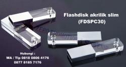Wow Keren!! Souvenir Flashdisk akrilik slim (FDSPC30)