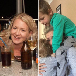 9 Potret Kocak yang Membedakan Gaya Ibu Saat Santai VS Ngurus Anak. Tren Fashion Ala Emak