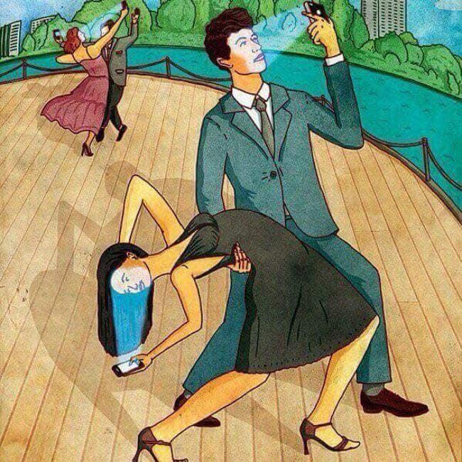 Ikutan acara dansa-dansi cuma biar dibilang keren aja, padahal sih nggak.