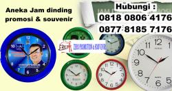 Keren!! Jual Aneka Jam dinding untuk promosi dan souvenir