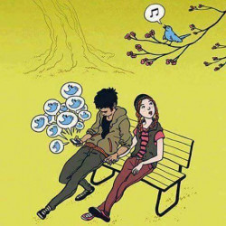 Ilustrasi Kehidupan Percintaan Masa Kini yang Bikin Hati Miris