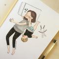 Lika-Liku Kehidupan Ibu Muda Saat Membesarkan Buah Hatinya