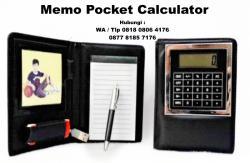 Keren!! Souvenir Promosi Memo Pocket Calculator