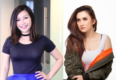 Chef Marinka dan Nafa Urbach Kedua cewek ini sama sama berumur 38 tahun. Namun Chef Marinka masih betah sendiri sedangkan Nafa Urbach sudah janda beranak satu.