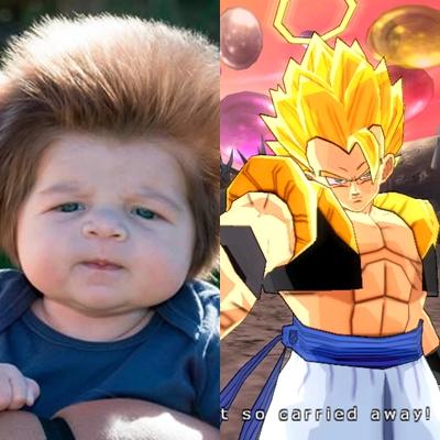 Fix, dia keturunan Dragon Ball.