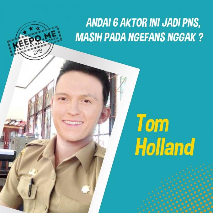 Tom Holland cocok banget dan penuh wibawa jadi abdi negara gengs.