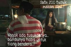 8 Meme Kocak Sate Horor ala Film Suzana Hasil Kreativitas Netizen