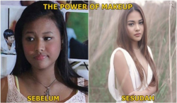 Jangan Terkecoh, The Power of Make Up Ini Kadang Menipu Kita di Media Sosial
