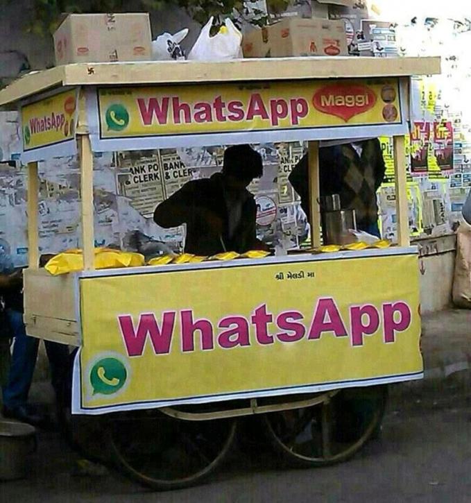 Nggak kepikiran kan bikin produk mereknya Whatsapp?