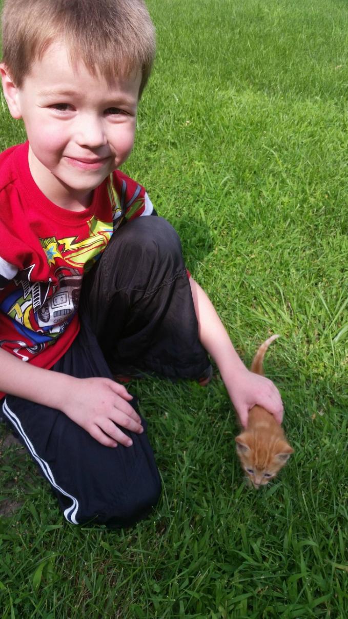 Nggak hanya orang tua aja, anak-anak pun sedari dini diajarkan untuk lebih peduli sesama termasuk hewan.