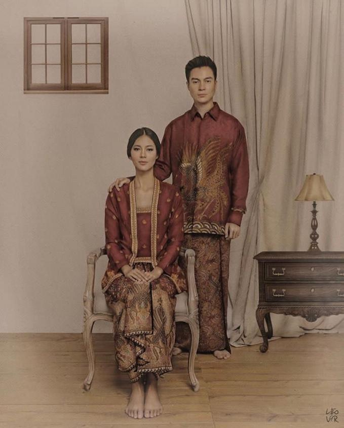 Melangsungkan pernikahan di bulan November nanti Baim Wong dan Paula Verhoeven sudah melakukan prewedding dalam beberapa konsep salah satunya konsep budaya Jawa ini.
