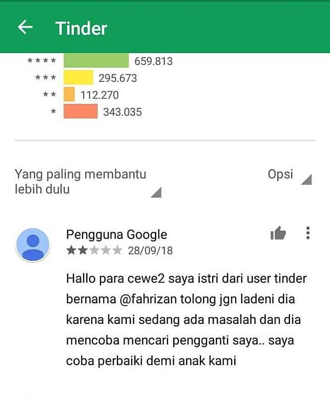 Ketika Tinder disalahgunakan sampai merusak rumah tangga orang :(