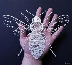 Kreasi Seni dari Kertas Karya Seniman Inggris nan Menakjubkan