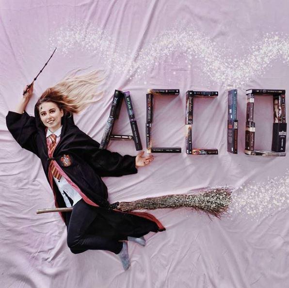 Mengingatkan kita tentang film Harry The Potter.