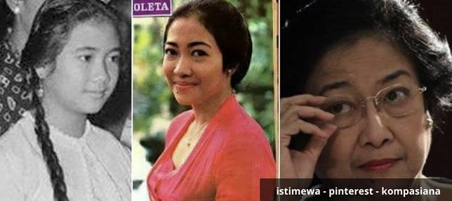 Magawati Soekarnoputri Megawati Soekarnoputri lahir di Yogyakarta 23 Januari 1947. Setelah suasana kondusif pasca perang kerdekaan Megawati dibesarkan di Istana Negara. Megawati banyak belajar tentang politik dari sang ayah. Ternyata Megawati muda cantik banget ya guys.