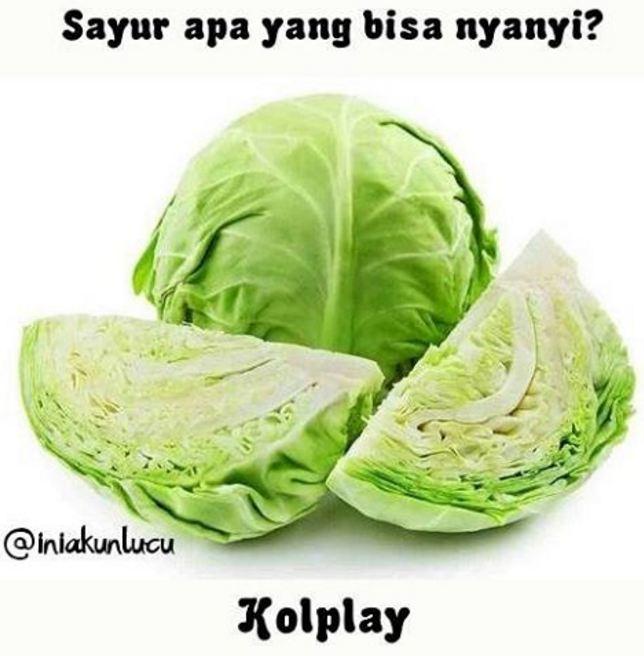 Ini pasti sayur yang paling banyak disukai karena suaranya. Ada-ada aja ya Pulsker netizen bikin tebakan kocaknya dari sayur dan buah.