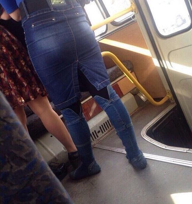 Rok sekaligus celana