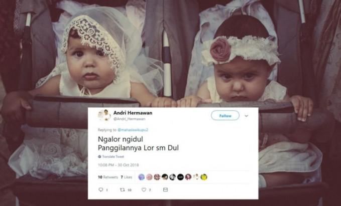 Boleh juga nih ide nama anak kembarnya.