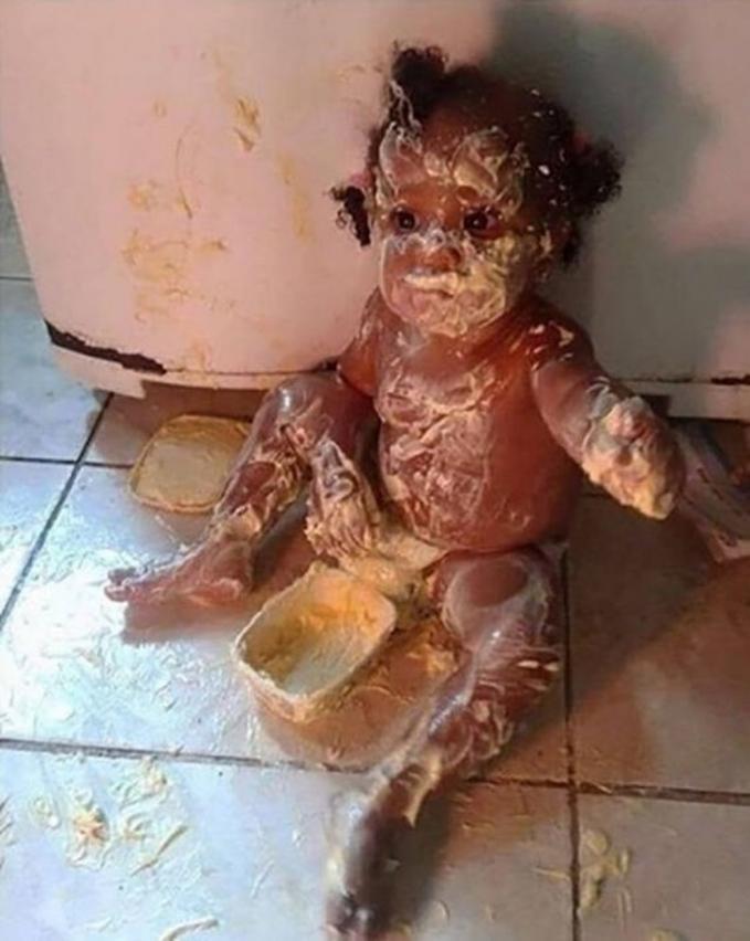 Inilah yang terjadi ketika ayah mengurus anak di rumah.