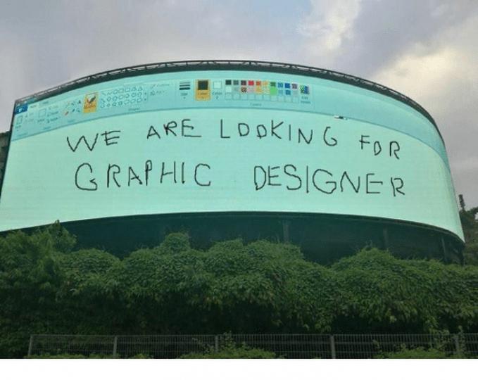 Iklan lowongan pekerjaan yang kece parah!