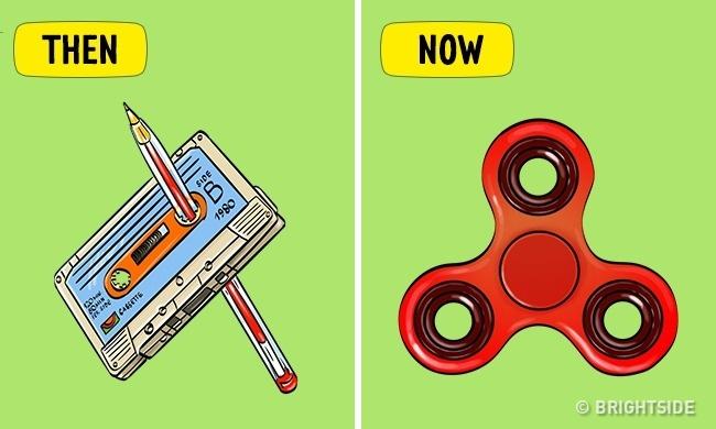 Kalau dulu yang diputar adalah kaset pita, saat ini spinner lah yang lebih menarik untuk diputar.