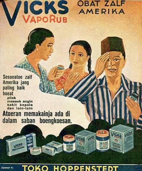 Obat gosok yang selalu ada sejak dulu yang dipakai anak-anak sampai orang dewasa. Tau nggak ini iklan tahun berapa?. Yap, iklan ini sudah ada sejak tahun 1939 lho gaes.