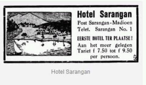 Selain menawarkan promosi berkeliling Jawa dengan kerea api, jaman dulu promosi yang gencar lainnya adalah promosi hotel Pulsker. Ini adalah contoh promosi sebuah hotel yang ada di sekitar kawasan wisata Sarangan, Madiun.