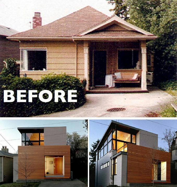 Dari yang sudah suram dan agak kumuh ternyata setelah direnovasi waw hasilnya bikin nggak percaya kalau itu rumah sendiri.
