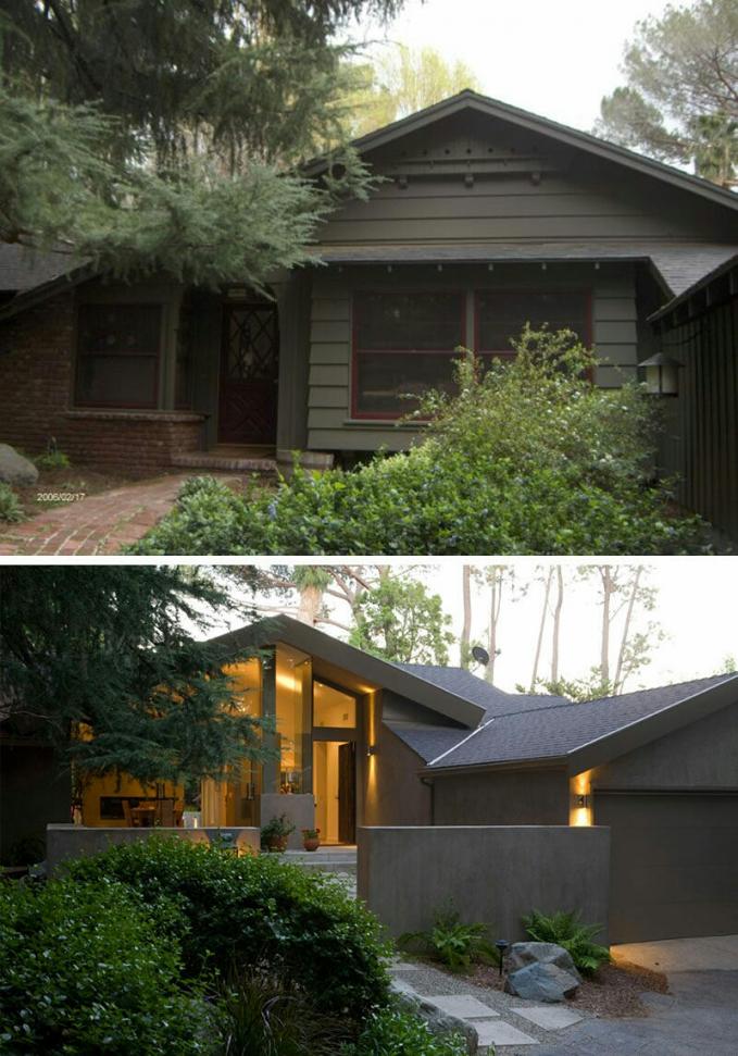 Rumah yang semula seperti rumah nggak ditempati setelah direnovasi menjadi rumah yang ceria dan kekinian banget.
