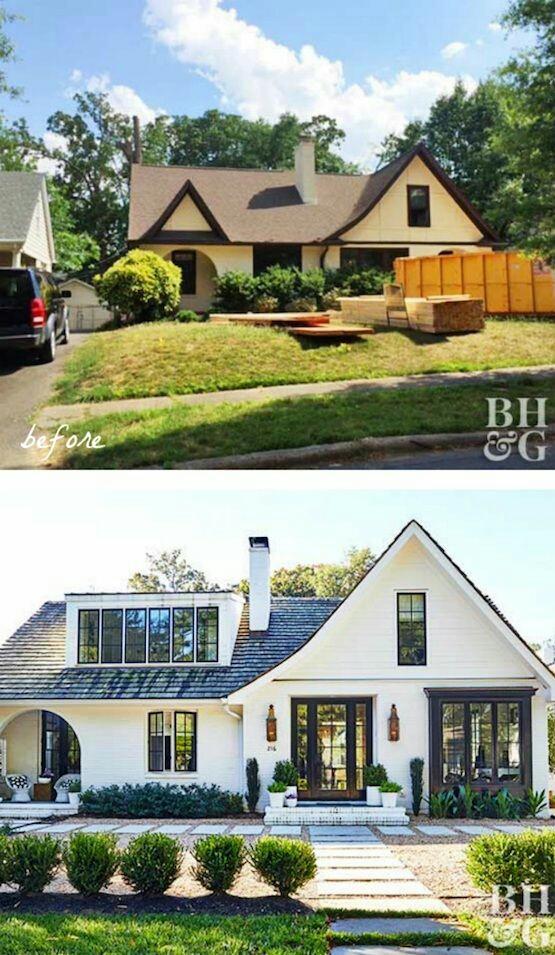 Rumah ini menjadi lebih besar, dan indah setelah direnovasi dan menjadi luas.